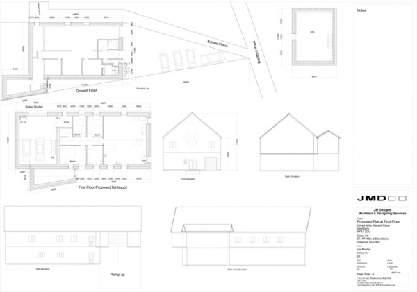 Architect and Design drawings